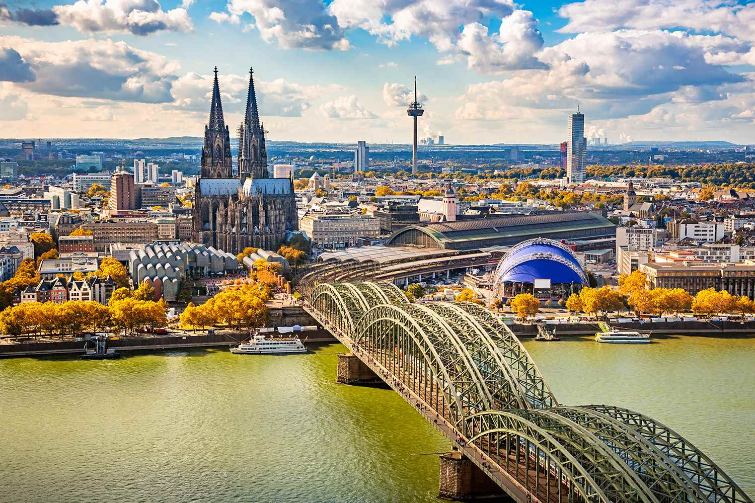 Cologne, Germany - Rhine River