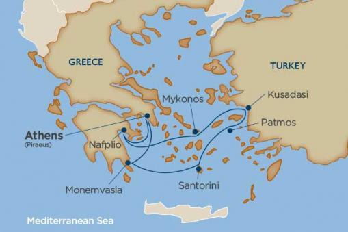 Treasures of the Greek Isles with Windstar