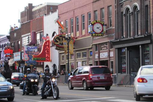 Broadway Street - Nashville, Tennessee