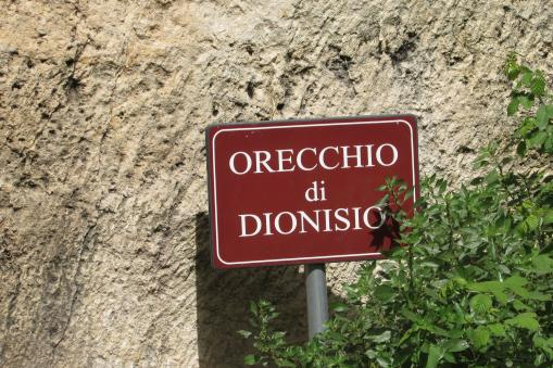 Dionysius Ear, Syracuse, Sicily