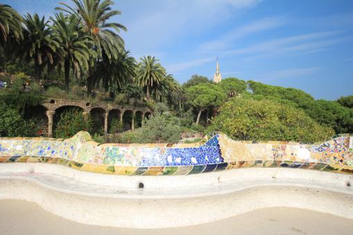 Guell Park, Barcelona Spain