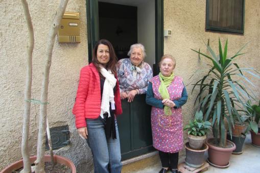 Locals in Monreale, Sicily