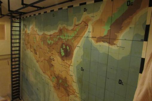 Wall map - Lascaris War Rooms