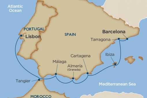 Treasures of Southern Spain and Morocco