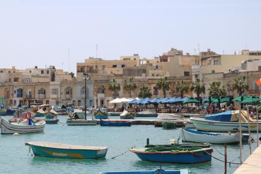 Village of Marsalokk, Malta