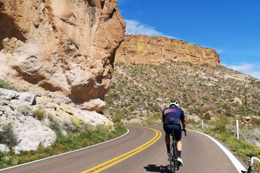 PT Cycling Centre - on the road in Arizona