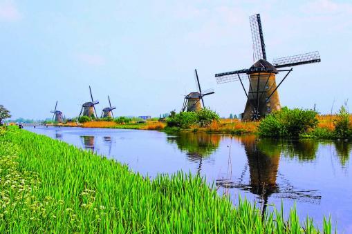 Kinderkijk Windmills, Netherlands