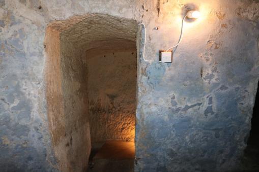 Villa Bologna - bomb shelter entrance