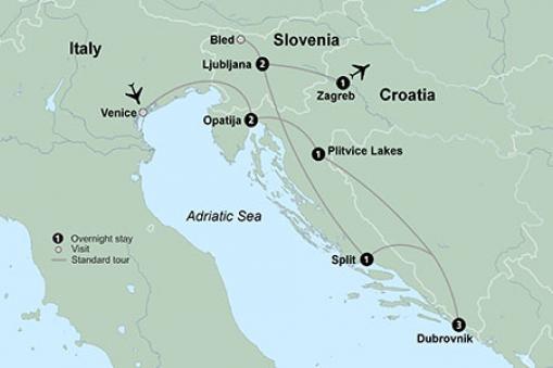 Discover Croatia Tour