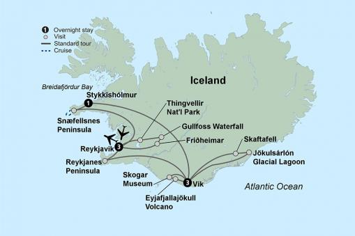 Iceland: Fire and Ice Itinerary