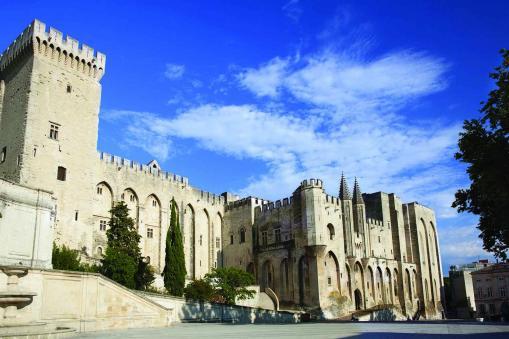 Papal Palace - Avignon, France