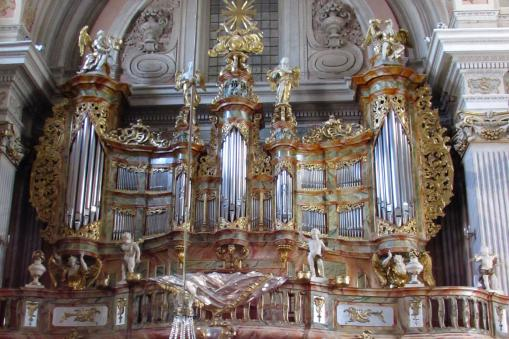 st. Anne's Church Warsaw Poland