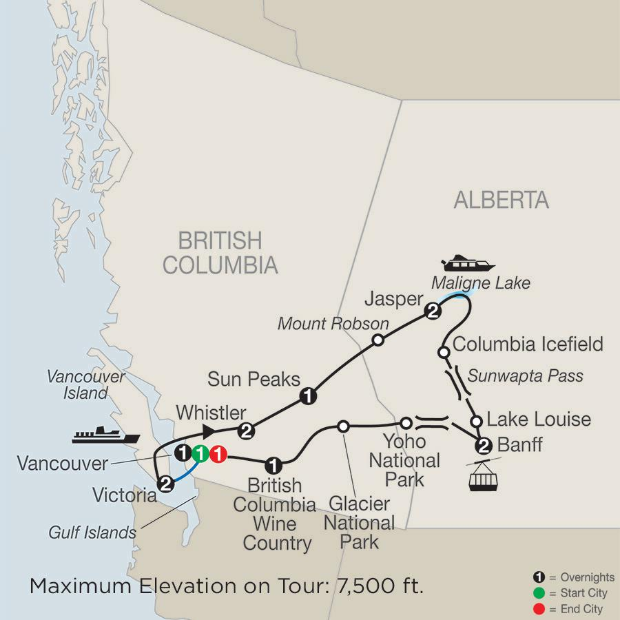 Grand Western Canada Vacation
