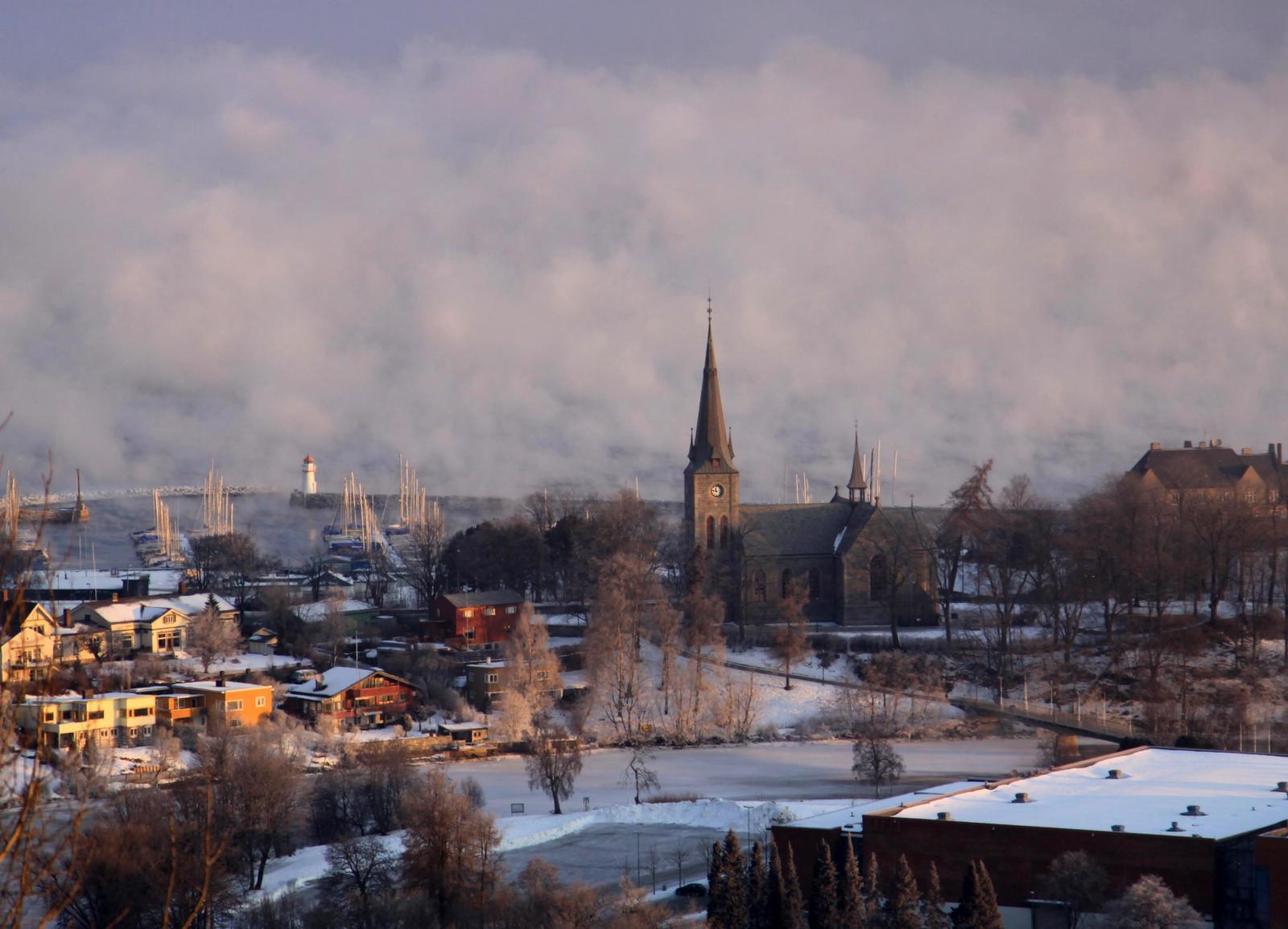 Trondheim with Nidaros Cathedral