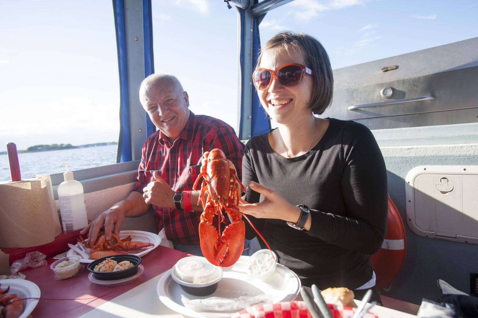 Ambassador Cruise Ship Lobster Dinner, Moncton, NB